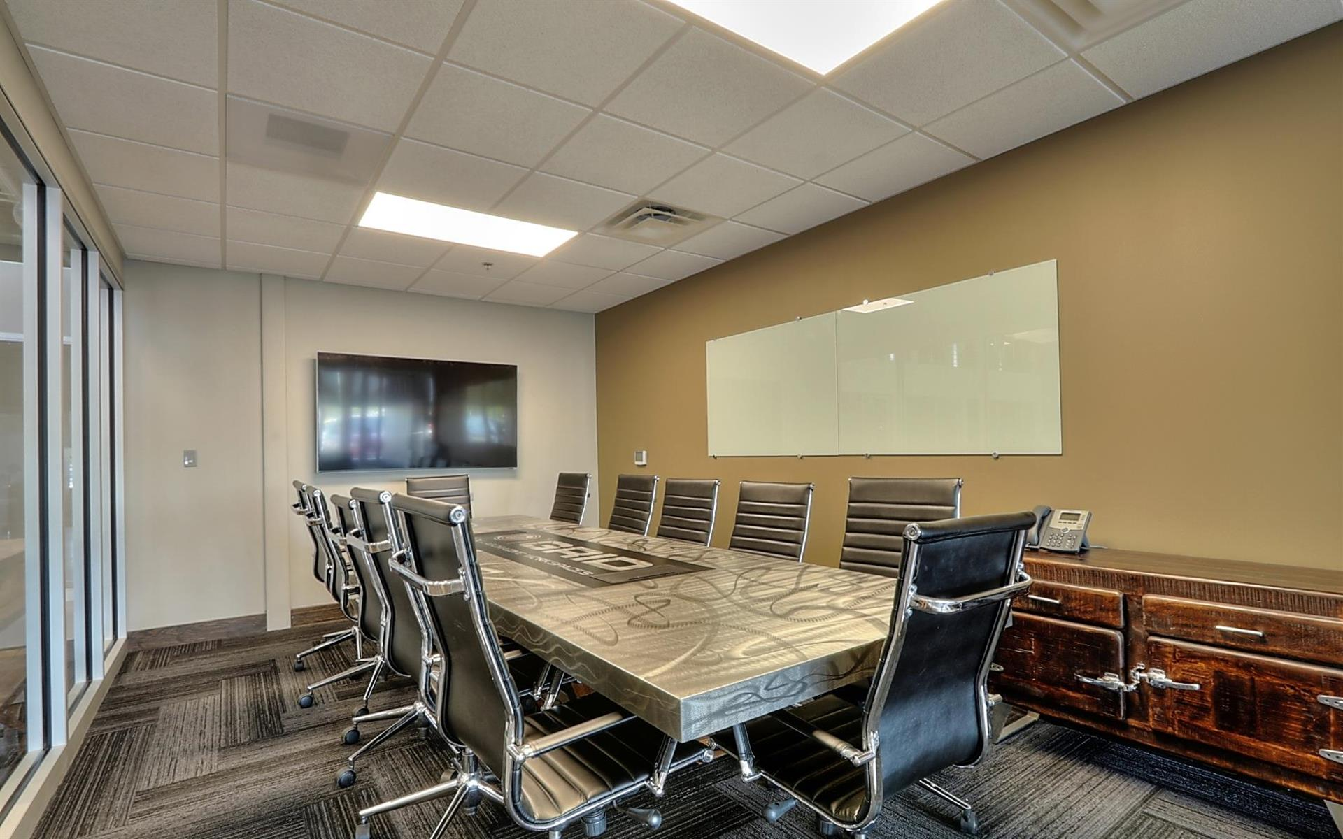 Private Meeting Room for 12 at GRID COLLABORATIVE WORKSPACES