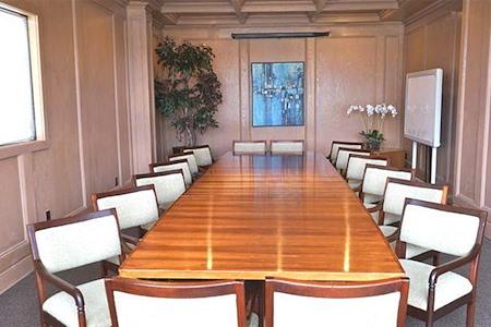Upper Saddle River Offices - NJ - Large Boardroom