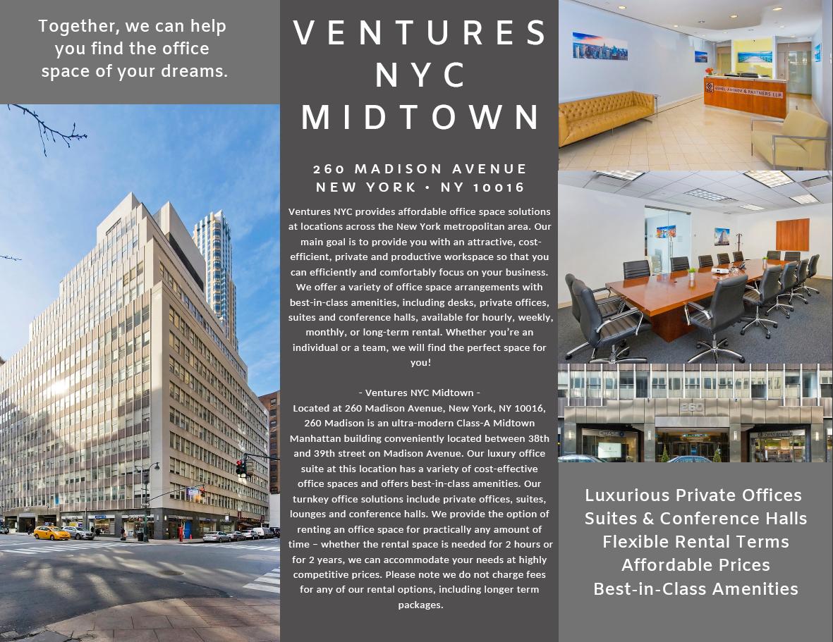 Ventures NYC - Midtown - Unit 13/14
