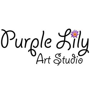 Logo of Purple Lily Art Studio