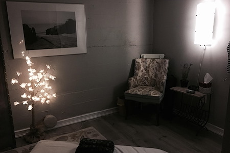 The Well Community Acupucture and Wellness - Treatment room 1