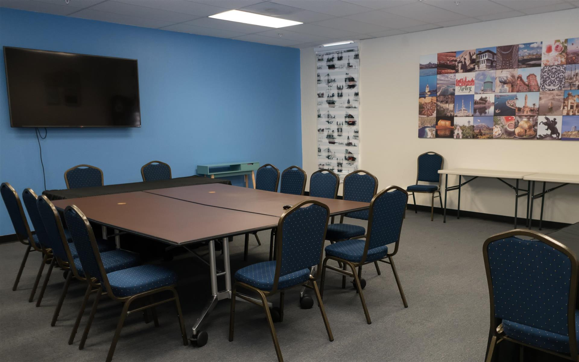 Bay Area Cultural Connections - Blue Meeting Room