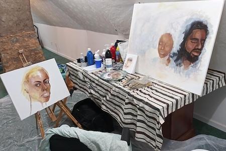5878Networx Atlanta East - Art Studio