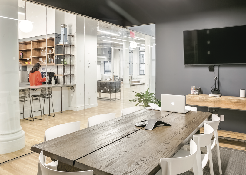 Knotel - 213 West 35th street - Partial Fourth Floor