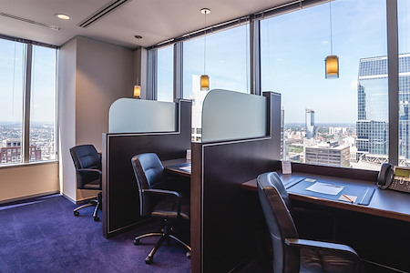 Servcorp - Philadelphia BNY Mellon Center - Coworking Lounge Workstation 4