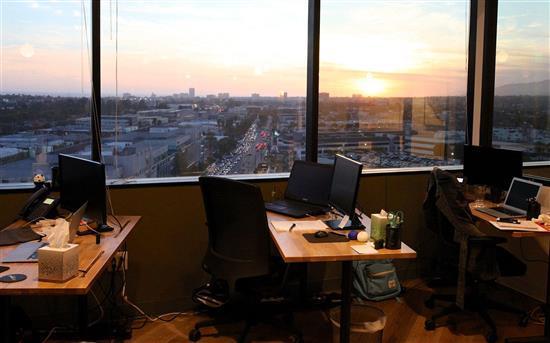 Village Workspaces - 6 person interior office