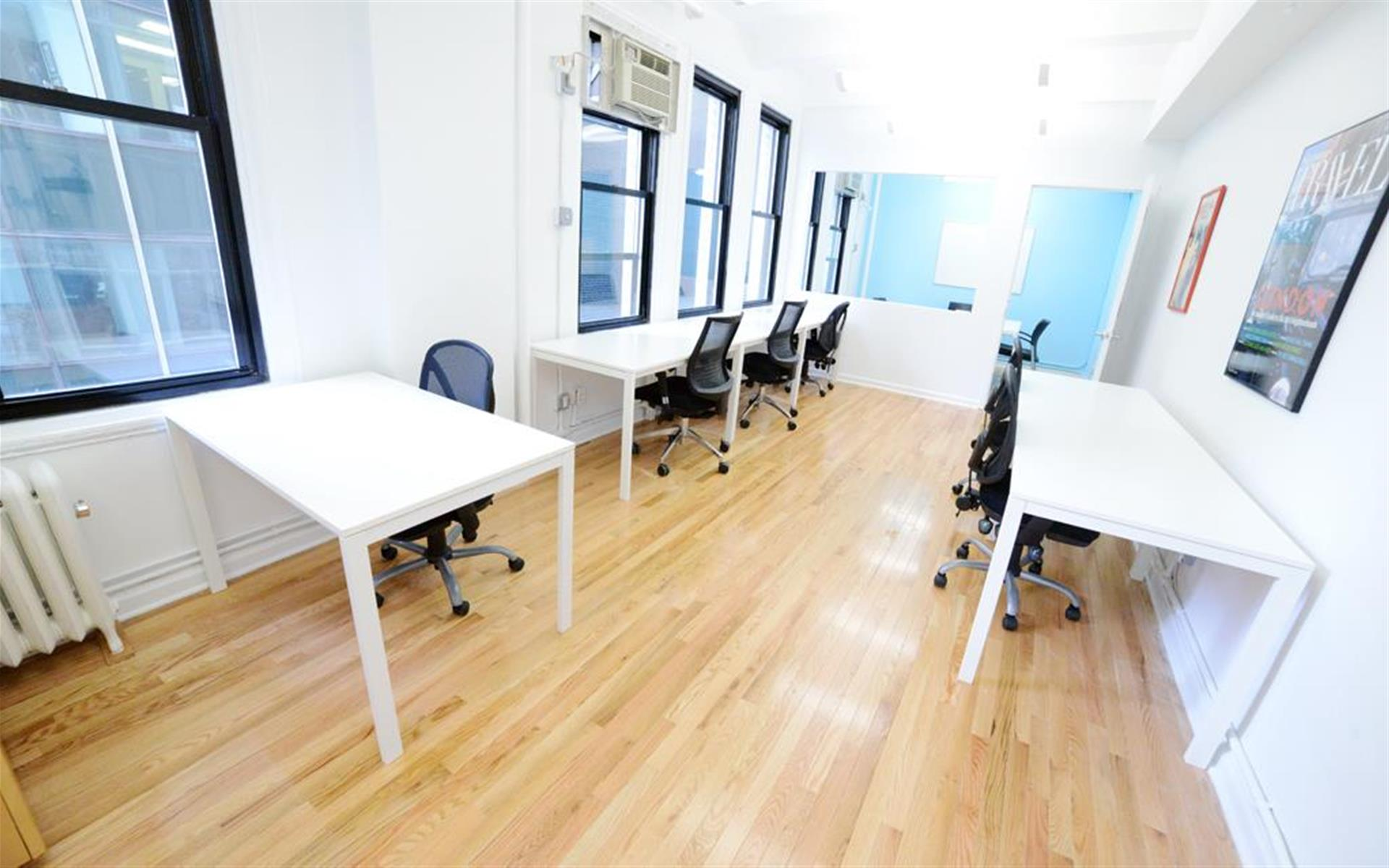 Amber Ventures: Bryant Park/ Midtown - Team Space for 4 to 8