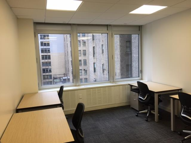 Corporate Suites: 1180 6th Ave (46th) - Suite 801 - 4-5 person window office