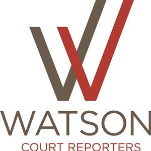 Logo of Watson Court Reporters