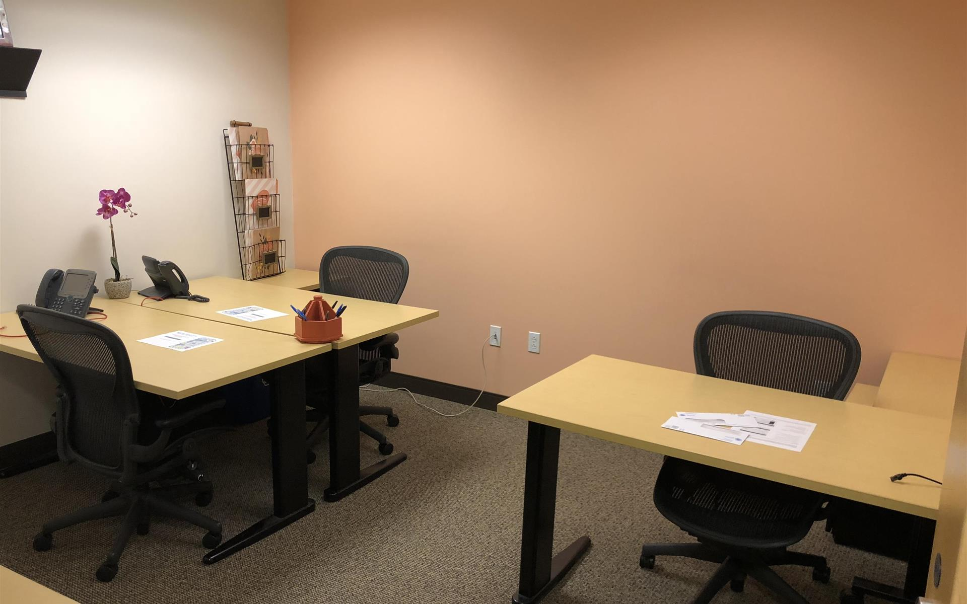 Beautiful Office Suites !! Window Water Front View!!! - Semi-Private Office, Reserved Desk