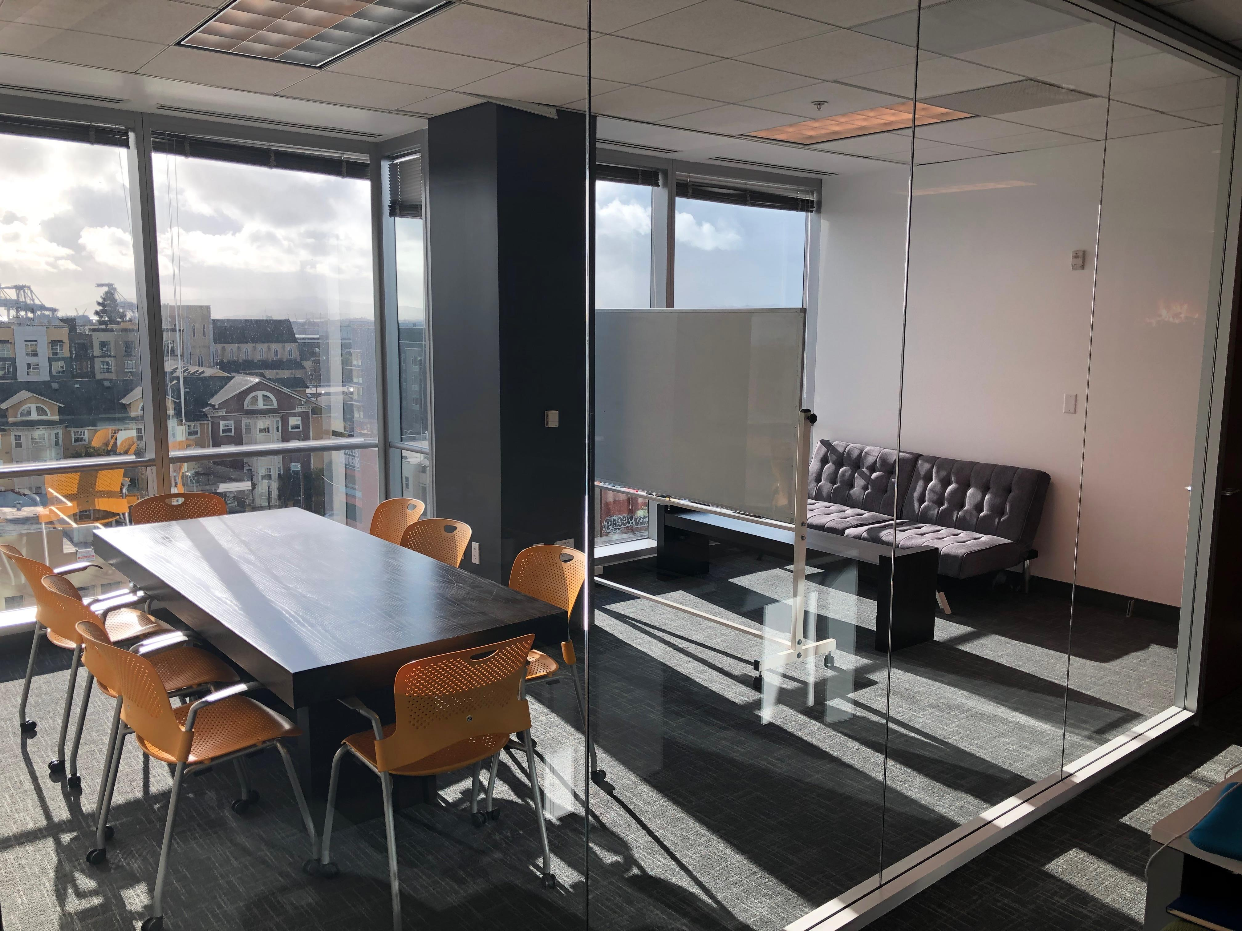 The Port Workspaces @ City Center - Private Meeting Room with View