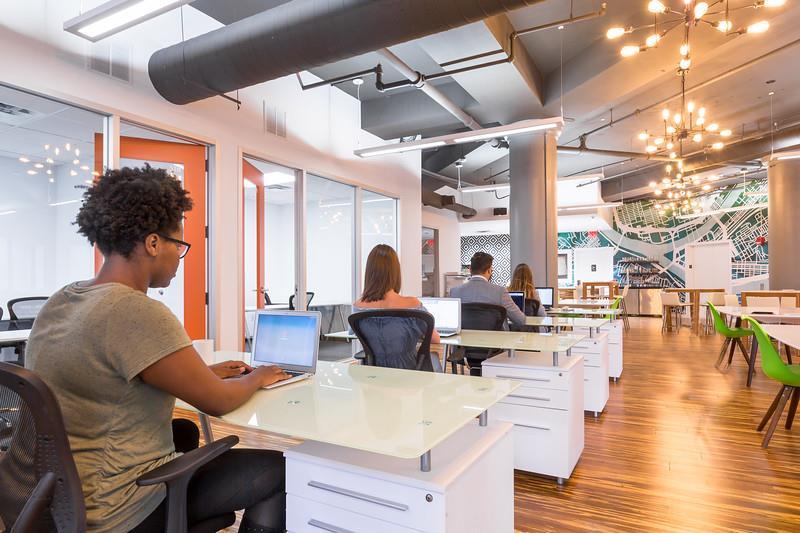 Novel Coworking Golden Triangle - Dedicated Desk for 1 - Desk #4