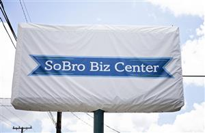 Logo of SoBro Biz Center