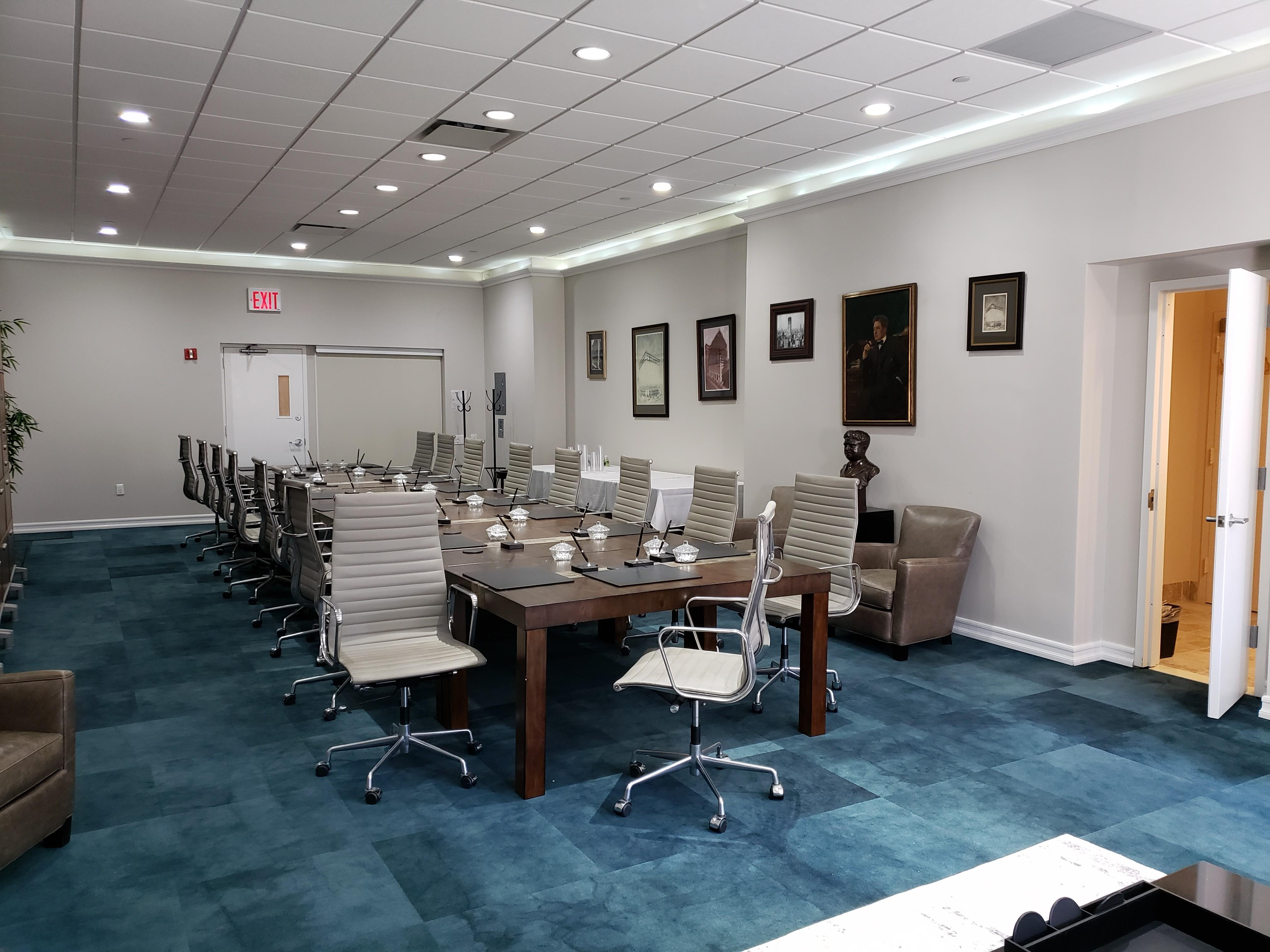 The Textile Building - Suite 1718 Board Room