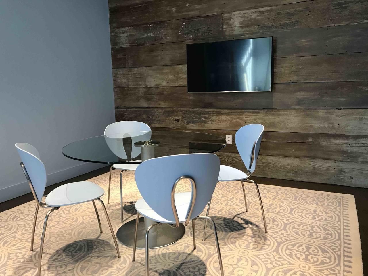 Martini Media Group - Modern Glass Enclosed Conference Room