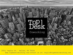 Logo of TopDesk Co-Working