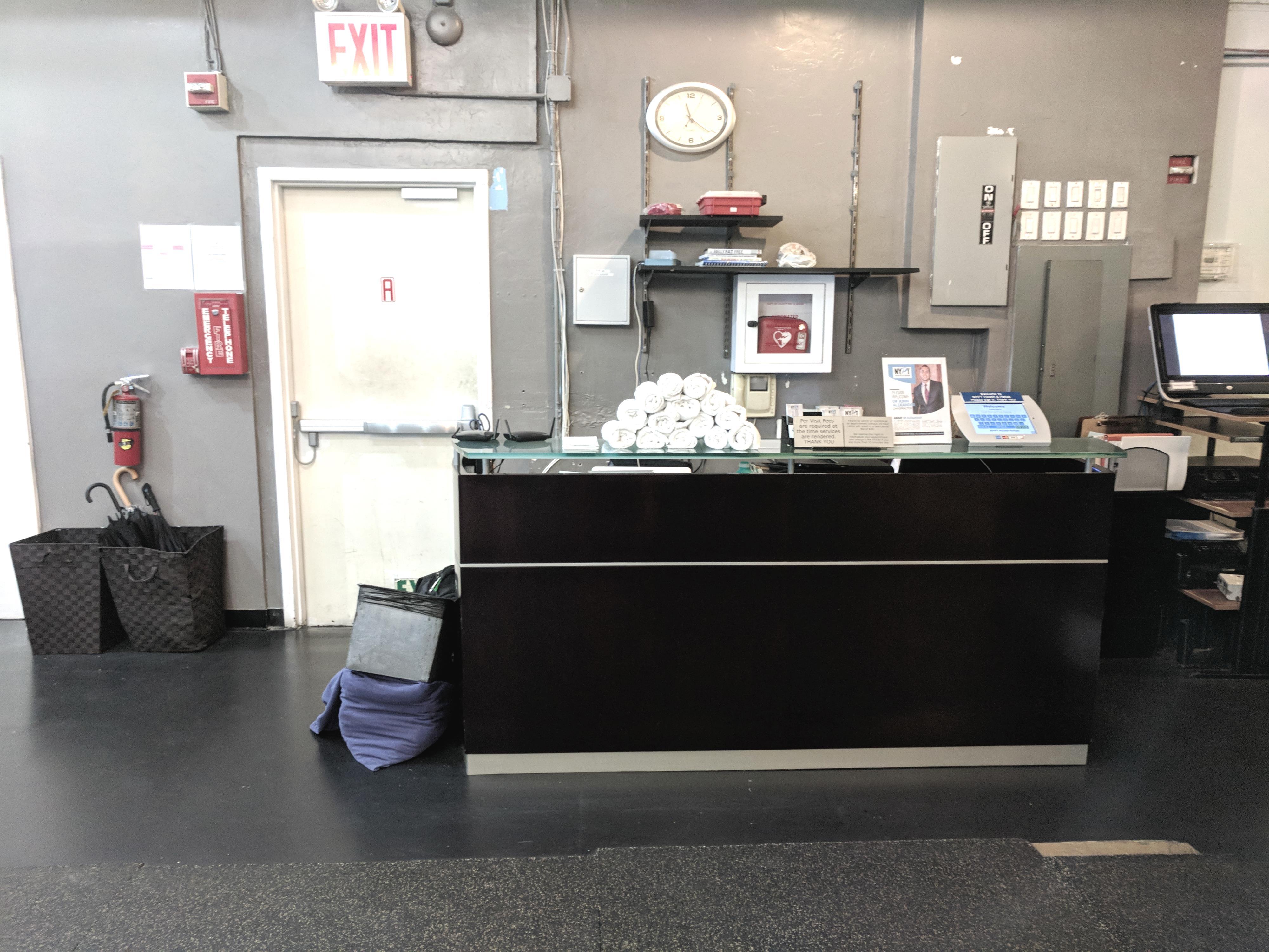 New York Personal Training - Open Desk 1
