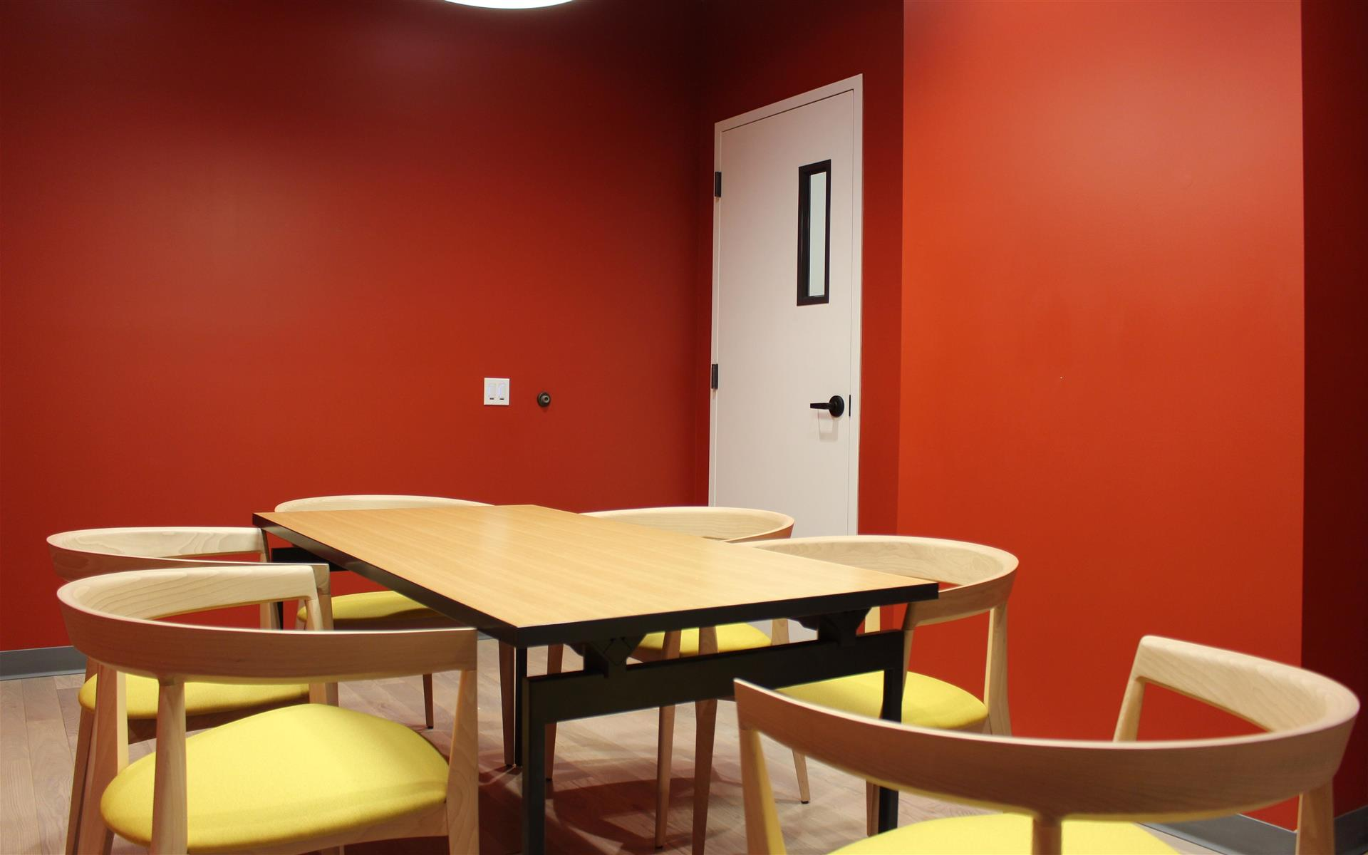 Capital One Café - Glendale - The Red Room