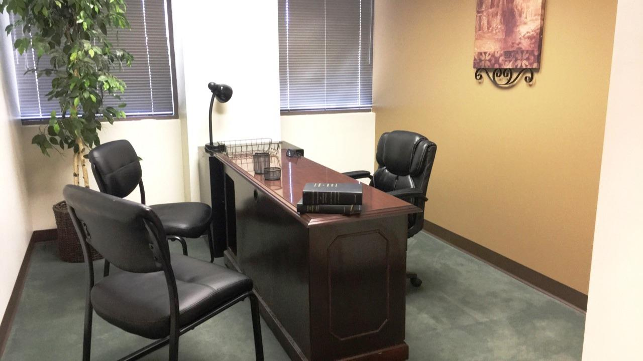Blue Sun Office Suites - Office 255 with window