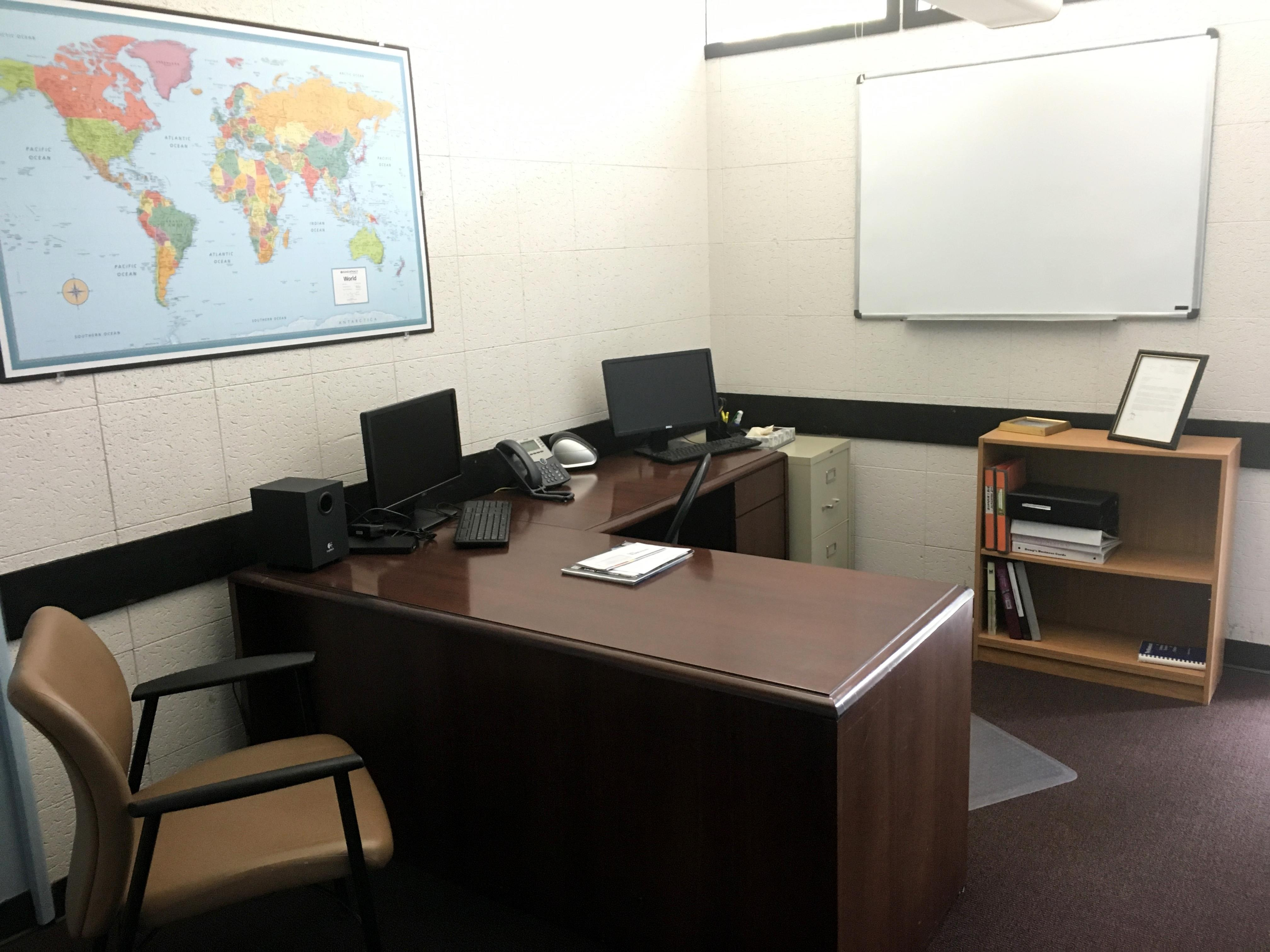 LCI Language Centers - Private Office with Window