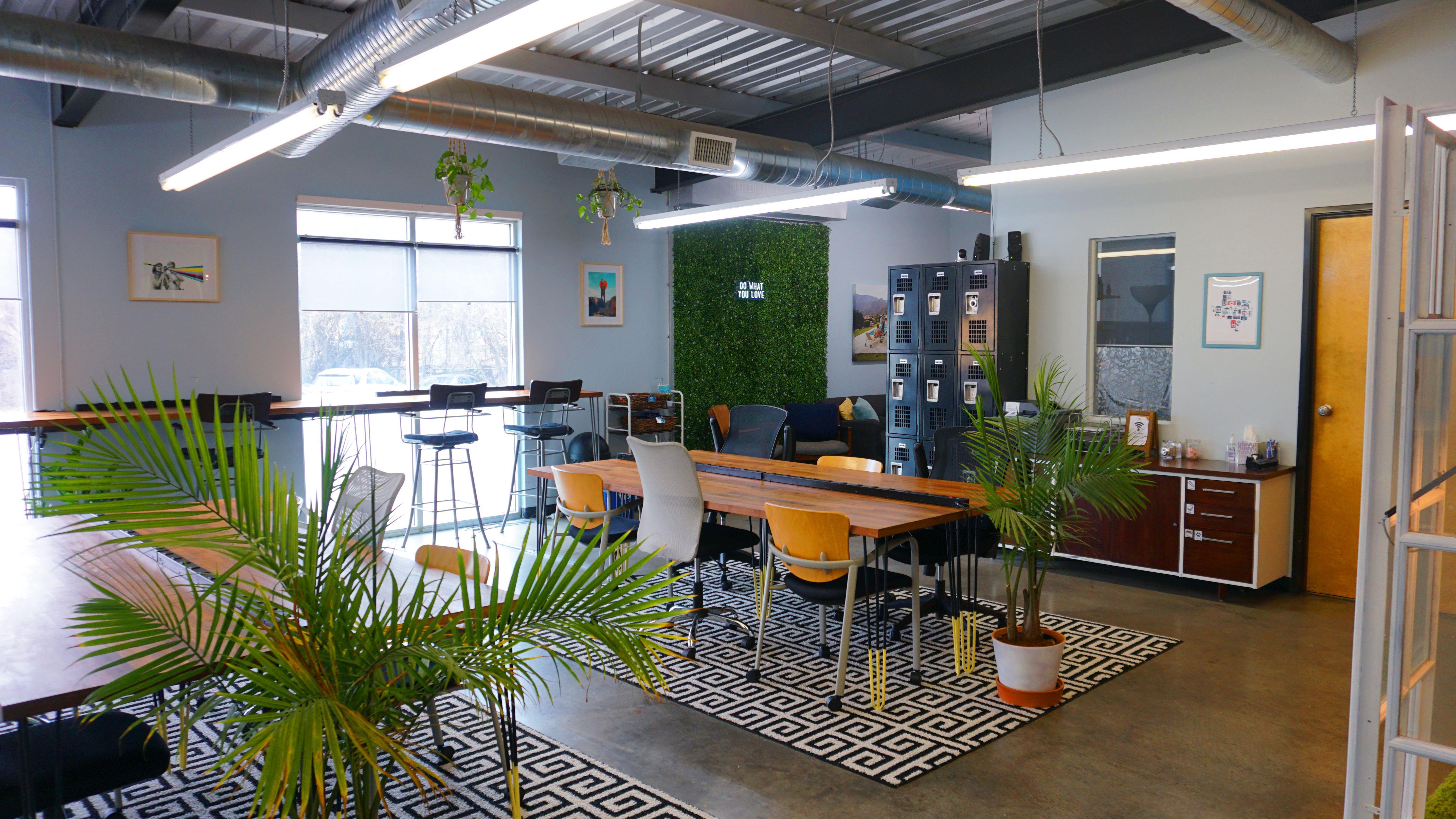 Createscape - Creative Office Open Workspace East