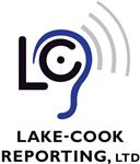 Logo of Lake Cook Reporting and Videoconferencing