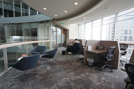 The Executive Centre - One Bligh Street - Co-Working Lounge