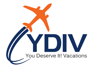 Logo of You Deserve It! Vacations