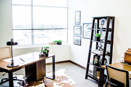 The Work Well - 2-person Window Office