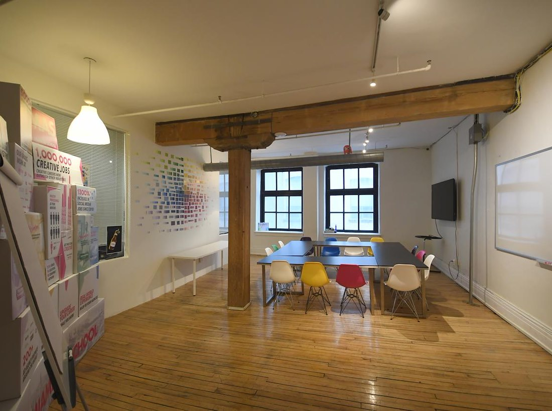 Working at queen bathurst creative co working space at toronto
