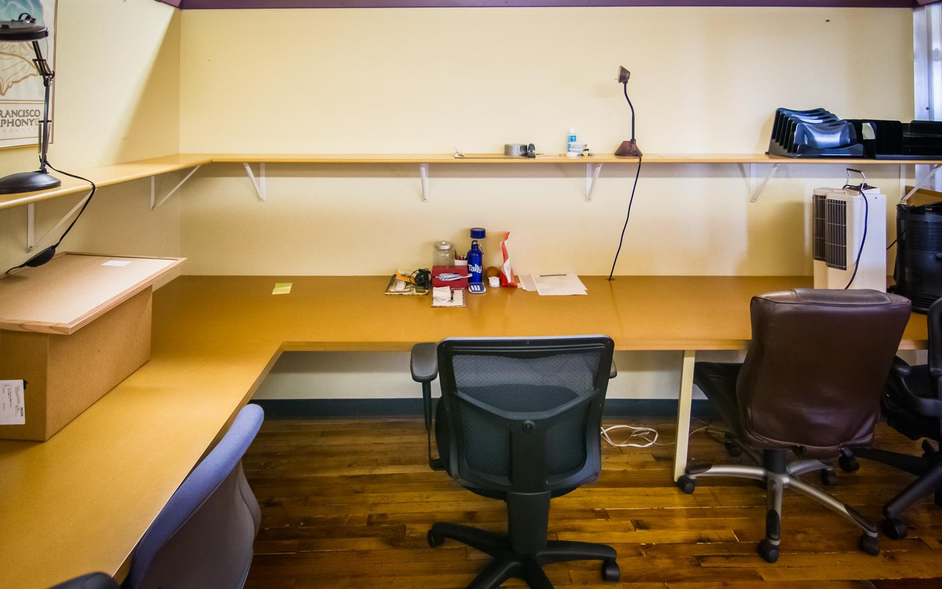 The South End Loft - Dedicated Desk Space 2