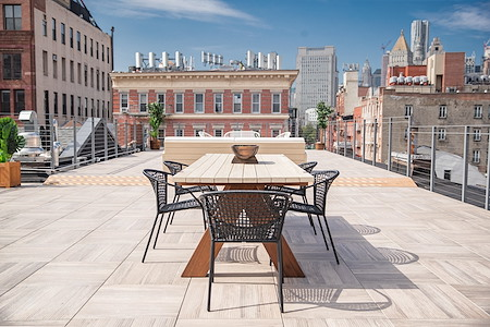 The Farm Nolita - Rooftop with Amazing Manhattan Skyline