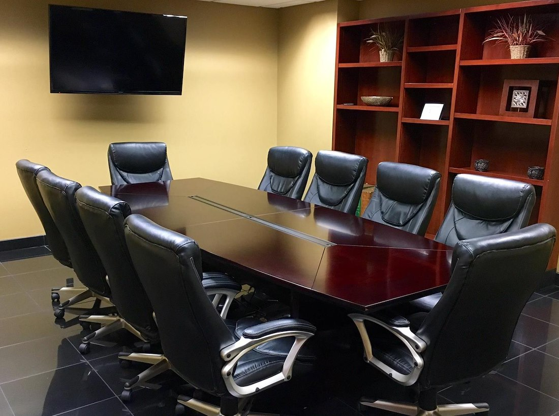 Private Meeting Room For At Union Centre Executive Offices And - Executive office conference table