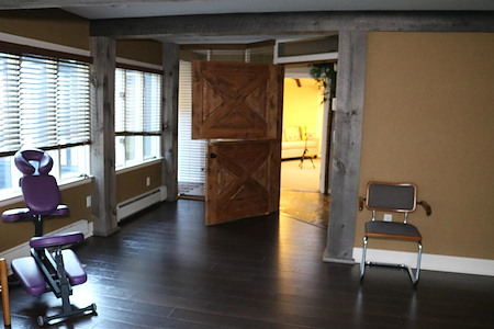 Bridge Healing Arts Center - Barn Door Room