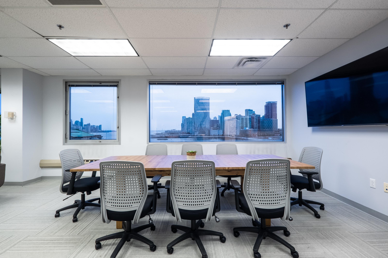 Magnolia Innovation Lab - Modern Boardroom with NYC skyline views