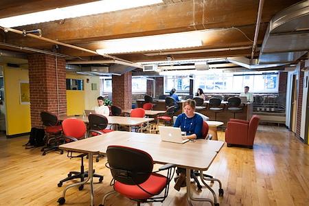 Workbar South Station - Dedicated Desk
