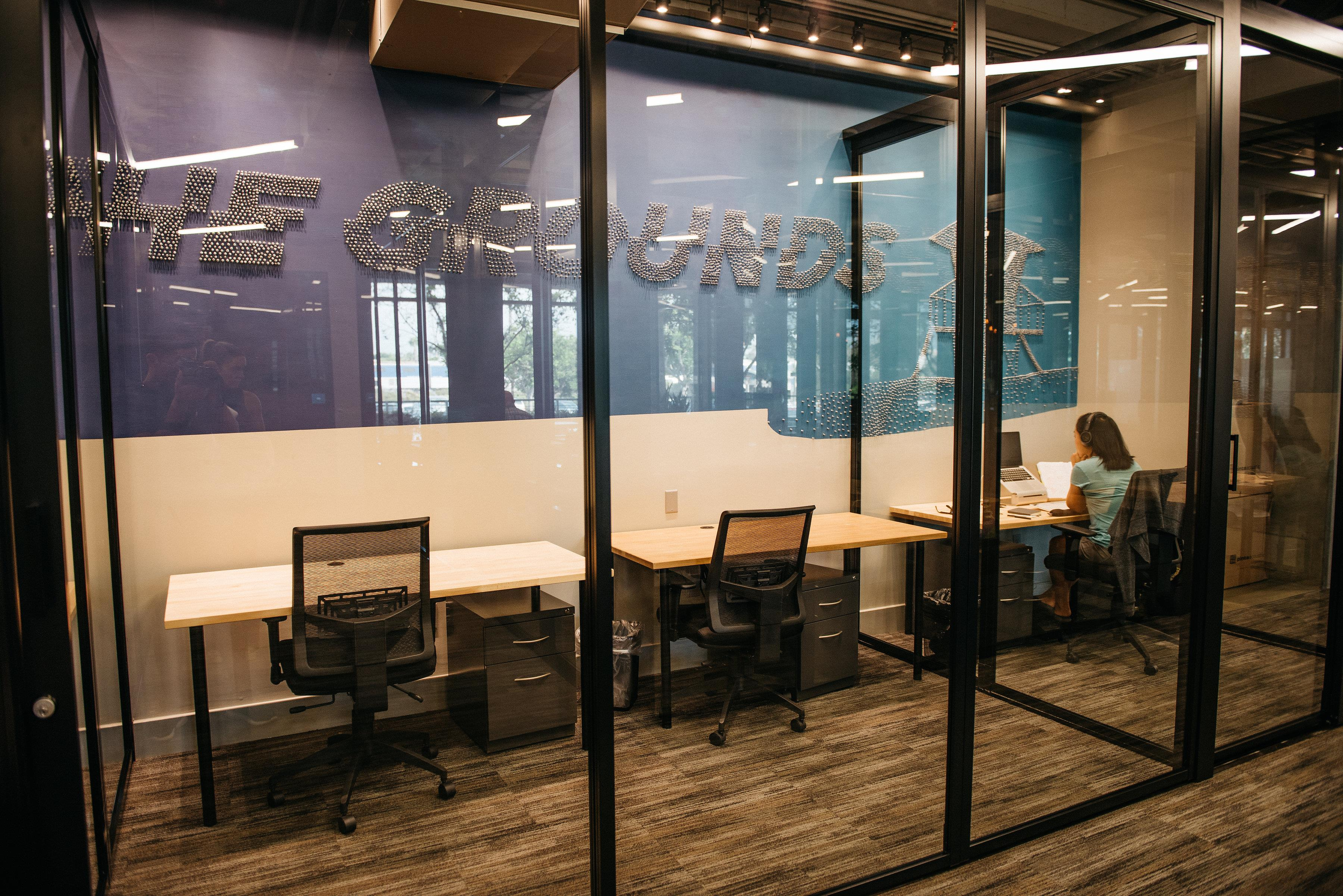 Carlsbad - CommonGrounds Workspace - 2-Person Semi Private Office