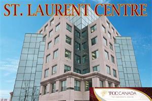 Logo of St Laurent Centre - TCC Canada