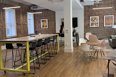 MakeOffices at Logan Exchange - Community Seating