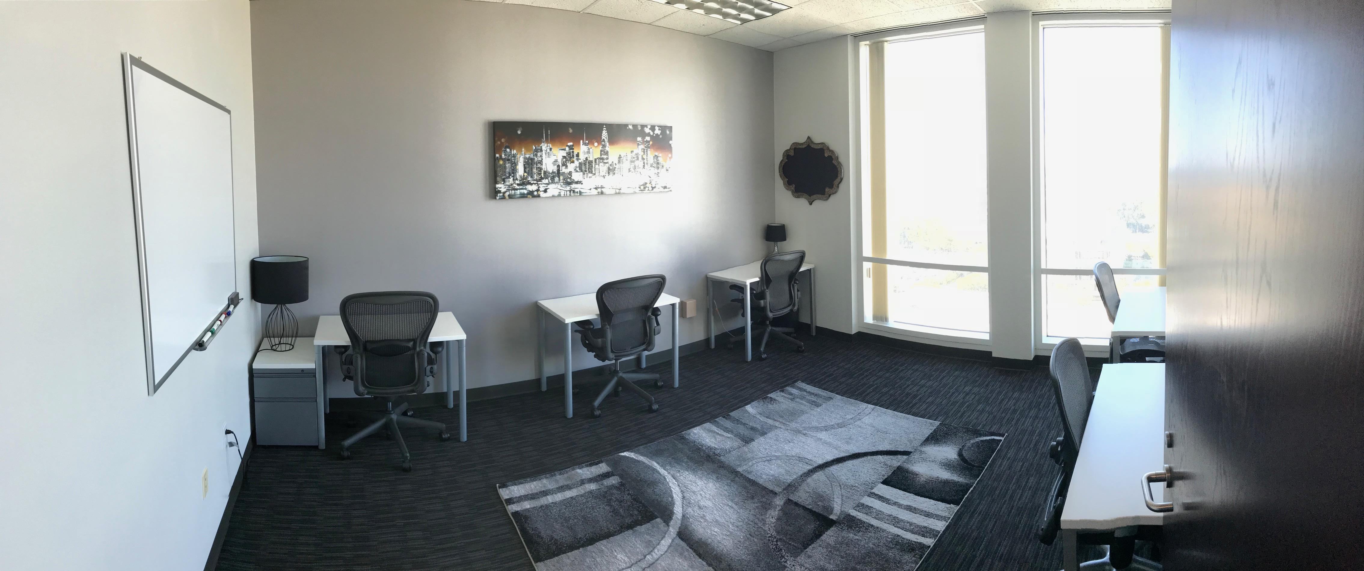 Regus- 9th Street - Contiguous Offices 14, 15, 16 for 14 ppl