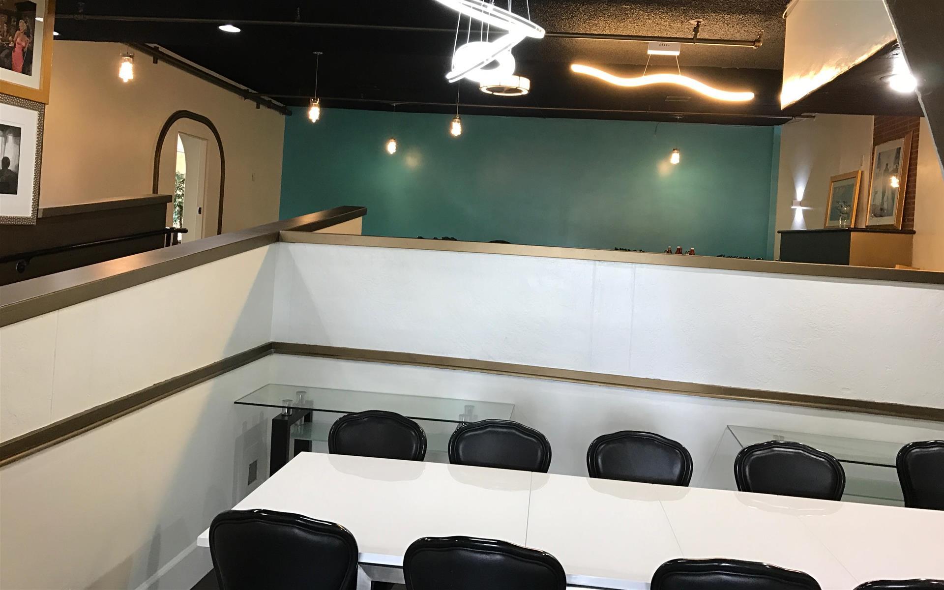 Qube Bar & Grill Restaurant - Private Board Room