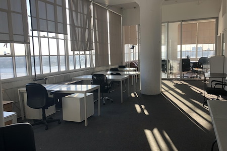 Blowback Productions - Production Office with Hudson Views