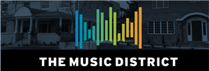Logo of The Music District