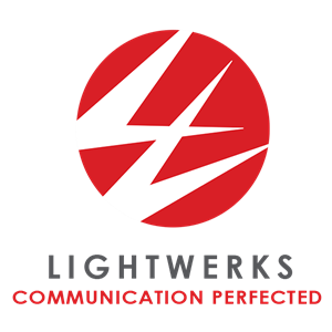 Logo of LightWerks Communication Systems Headquarters