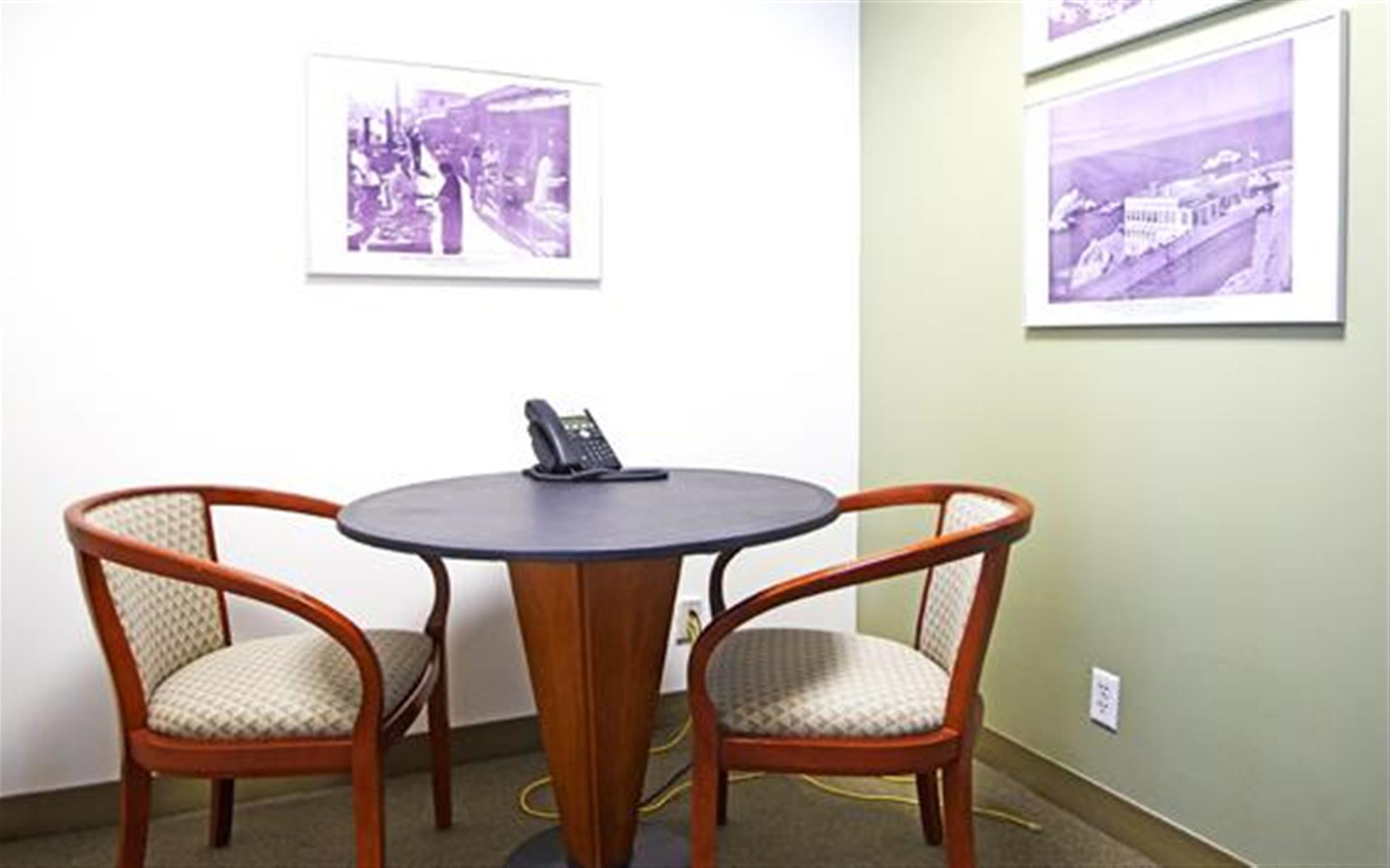 Raven Office Centers - 388 Market - Phone Booth / Meeting Room 2