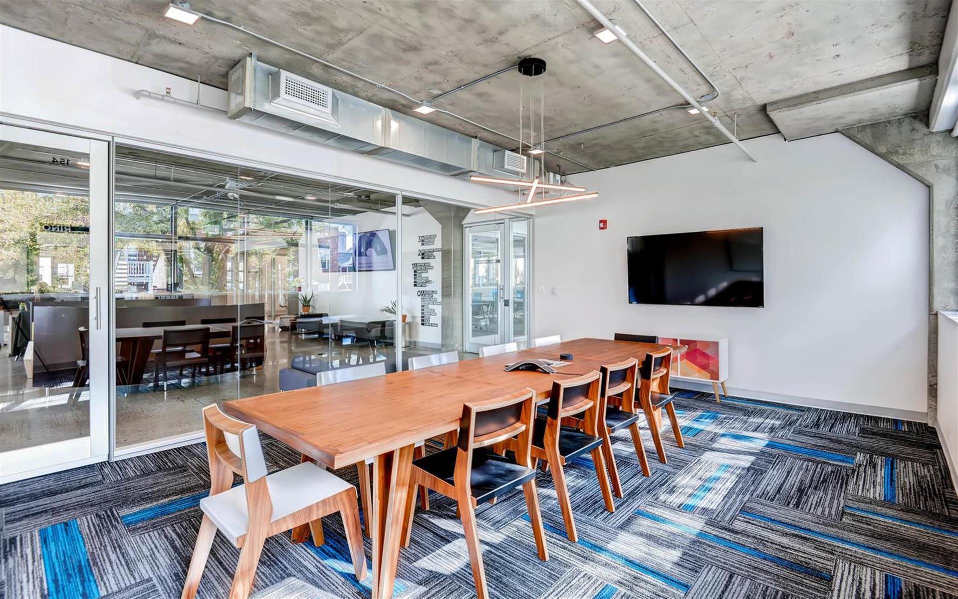 Enterprise Coworking - RiNo Meeting Room