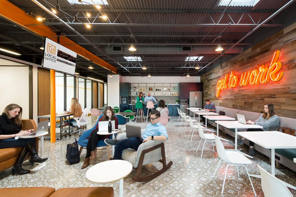 Local Office - Cafe Coworking