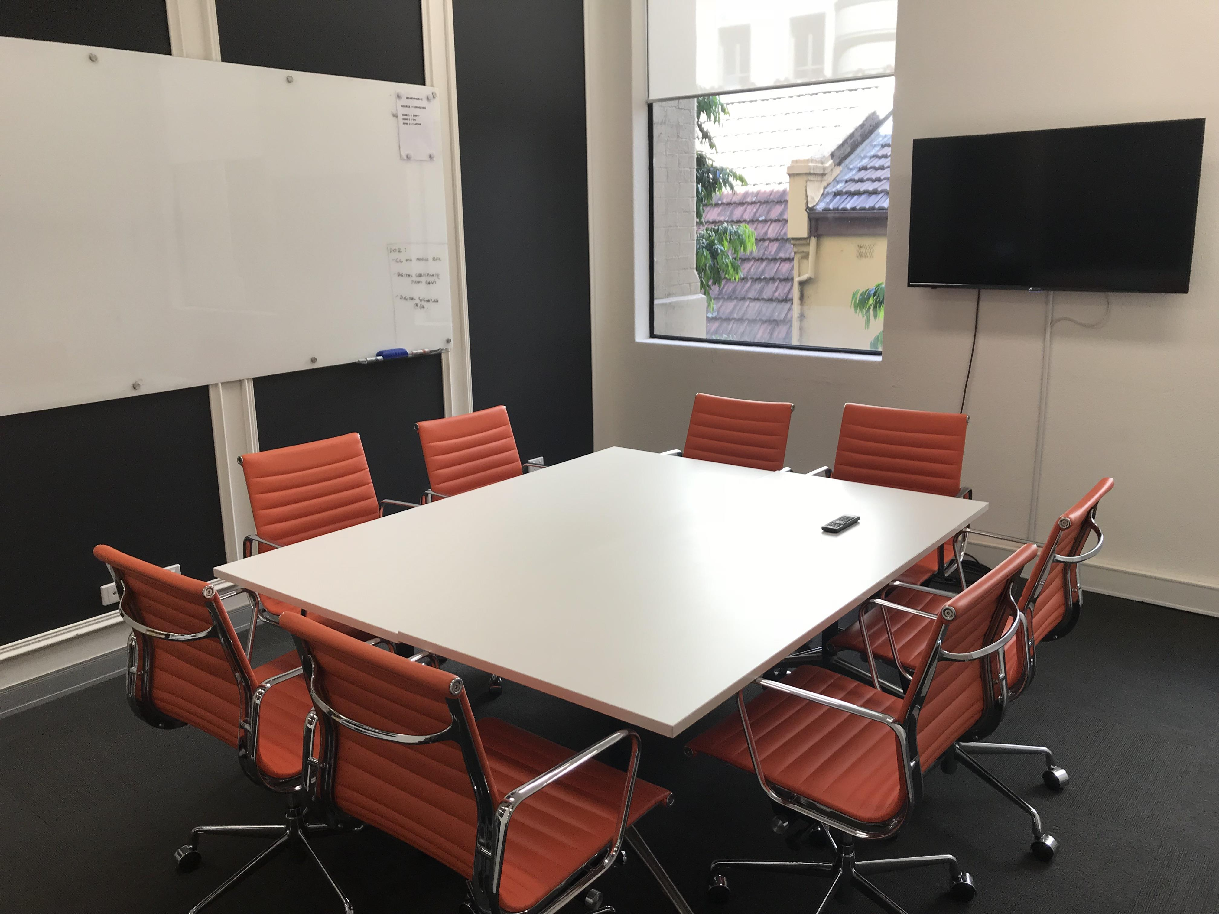 Incubate IT - Meeting Room Orange