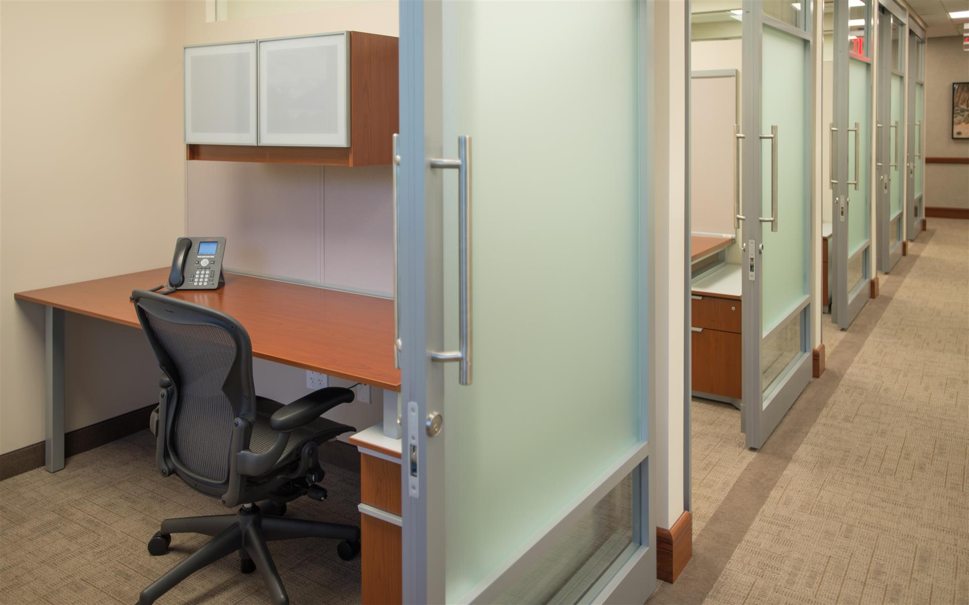 Symphony Workplaces -Westport CT - Solo Office - Privacy and Comfort
