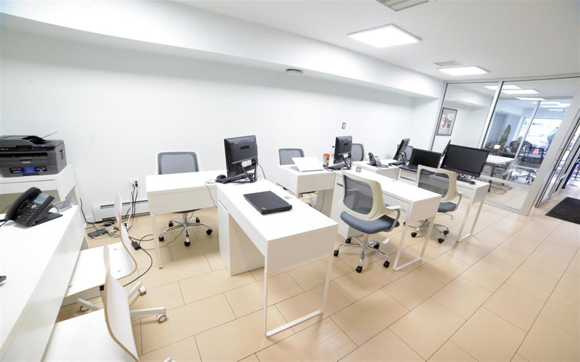 Flexible Office Space- NoMad - Park Avenue Storefront Team Office